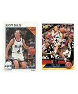 (2) McDonald's Upper Deck & Hoops Scott Skiles Card Lot Orlando Magic - $3.99