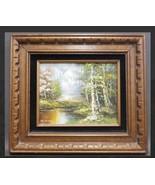 Original Signed Schiller Summer Stream Oil Painting - $849.00