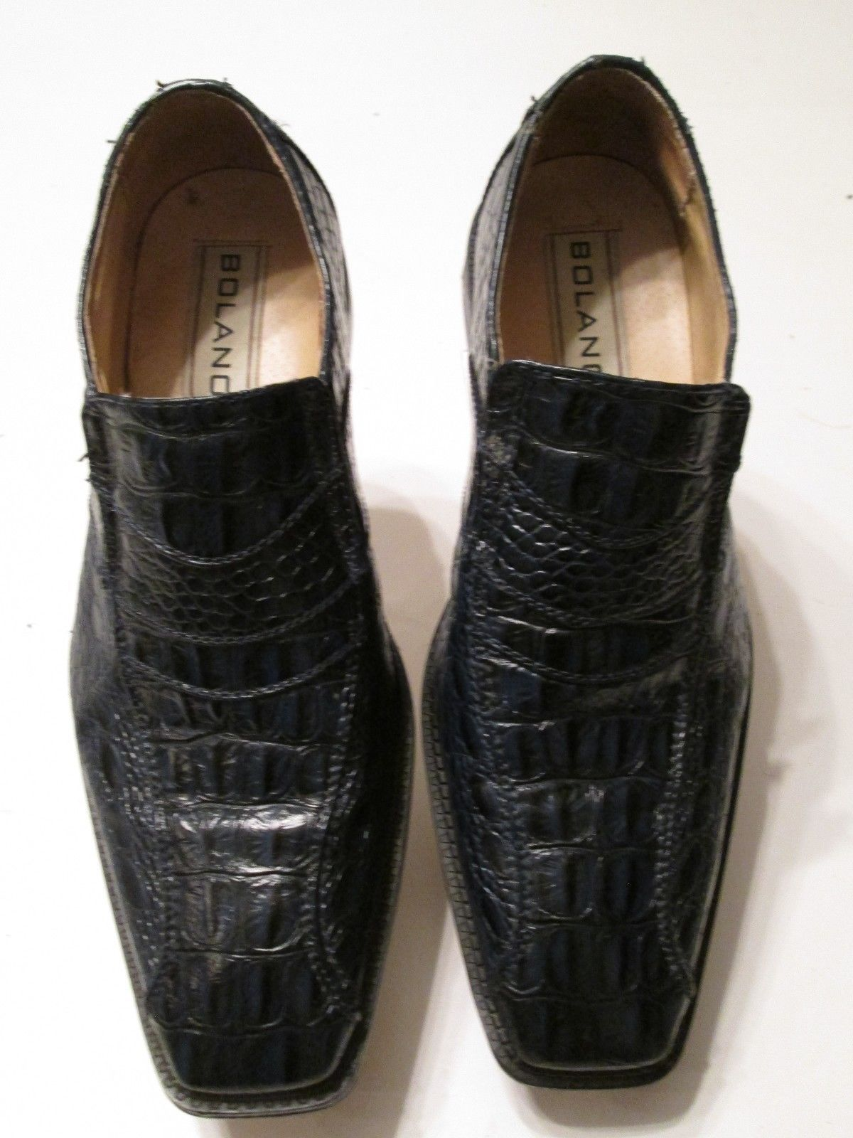 a3d5958b281 Bolano mens loafers blue croc gator and similar items jpg 1200x1600 Mens  gator slip