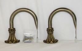 Kirsch Regency Collection 60110787 Antique Gold Beaded Trumpet Holdbacks image 1