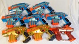 Lot of 8 Tiger Nerf Lazer Tag Guns 7 LTX Phoenix /1 Team Opps Red Blaste... - $149.99