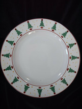 Debbie Mumm Magic of Santa Sakura Set of 4 Soup Bowls Vintage 1998 Christmas - $18.00