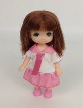 "Mini Takara Tomy 4.5"" Rika Doll Maki Chan Licca Japan Anime Girl Figure - $32.03"