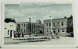 MN Thief River Falls Minn Land O Lakes Creamery Gas Station & Pumps Post... - $24.95