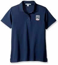 Port Authority Women's U.S. Ski Snowboard Team Polo Shirt, Navy, Size Me... - $19.79