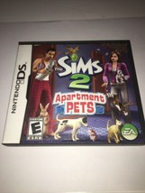 Sims 2 Apartment Pets Nintendo DS (NDS) Complete w/ Case and Instruction Manual - $7.99