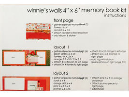"S.E.I. Scrapbook in a Bag, Winnie's Walls, a Summertime 4"" x 6"" Memory Book Kit image 5"
