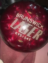 brinswick laser kysi545 Bowling Ball  With Case And Stand - $165.10