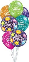 Qualatex 75824 Box 7-Piece Balloon Bouquet, Birthday Party - $5.99