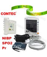 ICU CCU Vital Signs Monitor Patient Monitor 3 Parameters NIBP+SPO2+Pulse... - $193.34