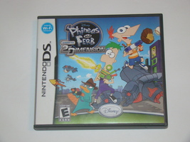 Nintendo DS - Phineas and Ferb Across The 2nd DIMENSION (Complete with M... - $10.00
