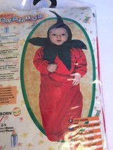 Baby Bunting Red Chili Pepper Halloween Costume Infant 0-6 Months Cinco ... - $16.79