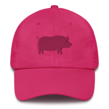 Pro pig hat / pig hat  / made in USA / Cotton Cap image 7
