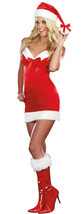 Under The Mistletoe Sexy Red Christmas Dress Costume - $11.99+