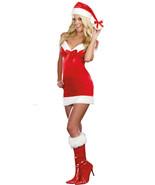 Under The Mistletoe Sexy Red Christmas Dress Costume - $11.99+
