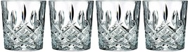 Set of 4 Double Old Fashioned Glasses Waterford Markham Scotch Whiskey C... - $51.21