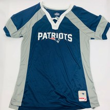 Majestic Womens Shirt Size Large NFL New England Patriots AFC East Blue/... - $3.06