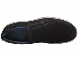 Men's ECCO Ennio Slip-On, 534194 53859 Sizes 10-13.5 Black/Black NIB - $111.96