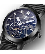Men's Luxury Watches Automatic Mechanical Skeleton Swiss Wrist Sapphire ... - $101.65