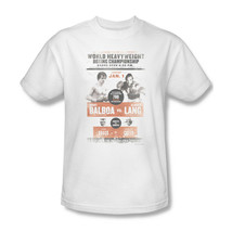 Rocky Fight Poster T-shirt 80's retro classic movie printed cotton tee MGM117 image 2