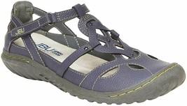 Neu JBU Von Jambu Denim Blau Damen 'Sydney Sandalen Flach für Damen JB19SNY45