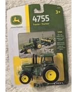 John Deere LP64449 ERTL 4755 Die Cast Metal Replica Tractor - £6.87 GBP