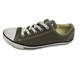 Converse all Star women's sneaker textile upper gray low top size US 7 - $17.93
