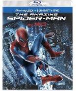 The Amazing Spider-Man (Four-Disc Combo: Blu-ray 3D/Blu-ray/DVD + UltraV... - $12.86