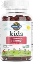 Garden of Life Kids Immune Gummy, Cherry Flavor - Vitamin C, D & Zinc Gummies  - $30.68