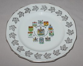 """10"""" Canada Coats of Arms & Emblems Collectors Plate Alfred Meakin England - $14.80"""