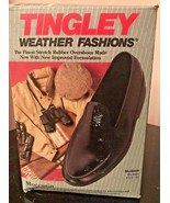 Men's Tingley Moccasin Rubber Overshoe Weather-Tuff Stretch Galoshes - $16.99