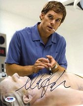 Michael C Hall Dexter Signed 8x10 Photo Authentic Certified Authentic PSA/DNA CO - $158.39