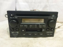 98-02 Honda Accord Odyssey Radio Cd Cassette & Code 39101-S9A-A510 IDE77 - $64.35