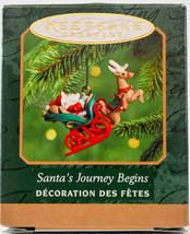 Hallmark  Santa's Journey Begins  2000  Miniature Keepsake Ornament - $10.19