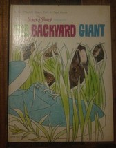 Vintage Walt Disney's THE BACKYARD GIANT , Whitman Giant Tell-A-Tale Boo... - $5.94