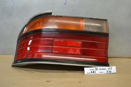 1989-1990 Mitsubishi Galant 2000 GTX Left Driver Oem tail light 70 4A3 - $29.69
