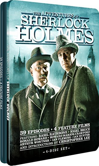 Adventures Of Sherlock Holmes - Collector's Tin DVD
