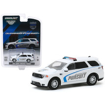 2019 Dodge Durango Pursuit Police SUV White Hobby Exclusive 1/64 Diecast... - $18.37