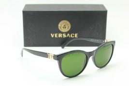 New Versace Mod. 3247 GB1 Black Gold Authentic Frame Sunglasses 53-18 - $211.31