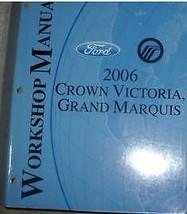2006 FORD CROWN VICTORIA MERCURY GRAND MARQUIS Service Shop Repair Manua... - $98.99