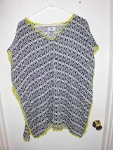 OLD NAVY Boho Tunic Top Shirt Sz S Women's Blue White Green Sleeveless  - $19.79