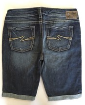New SILVER Jeans Sale Buckle Dark Mid Rise Aiko Denim Jean Stretch Short... - $33.33
