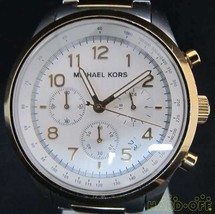 MICHAEL KORS Quartz analog wristwatch Chronograph MK-8144 F/S  Very Good From JP - $188.09