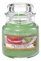 Yankee Candle MACARON TREATS Small Jar Candle - UK Exclusive for Winter ... - €13,09 EUR