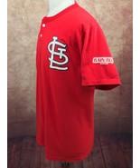 RARE Russell St. Louis Cardinals Rain-Blo Celebrity Bat Boy T-Shirt Red ... - $13.60