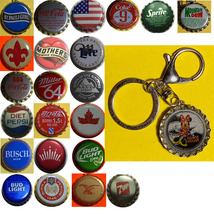 Minnie Mouse Coke Sprite Diet pepsi & more Soda beer cap Keychain image 1