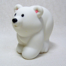 Fisher Price Little People POLAR BEAR from Animal Sounds Zoo 2002 - $3.50