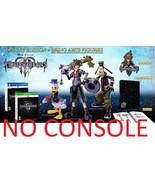 Kingdom Hearts III 3 Deluxe Edition PS4 BUNDLE + Bring Arts Figures Squa... - $399.99
