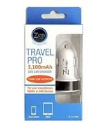 Zen Logic ZL-3.1CCBK Dual USB Car Charger for Universal/SmartPhones - $5.87