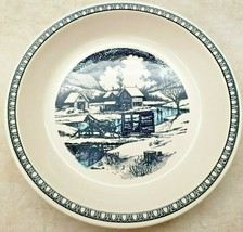 """Watkins Vintage Pie Plate """"Over The River And Through The Woods"""" 1982 - €26,00 EUR"""